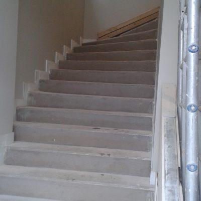 Escalier avant travaux